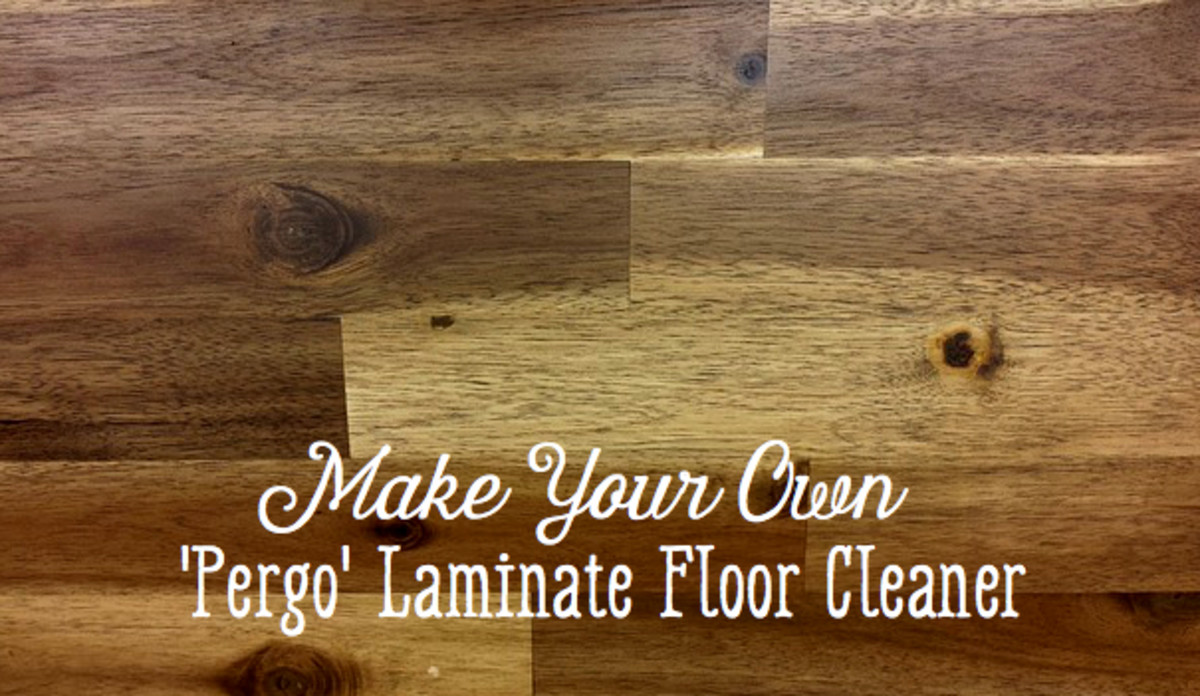 How to Make DIY Pergo Laminate Floor Cleaner