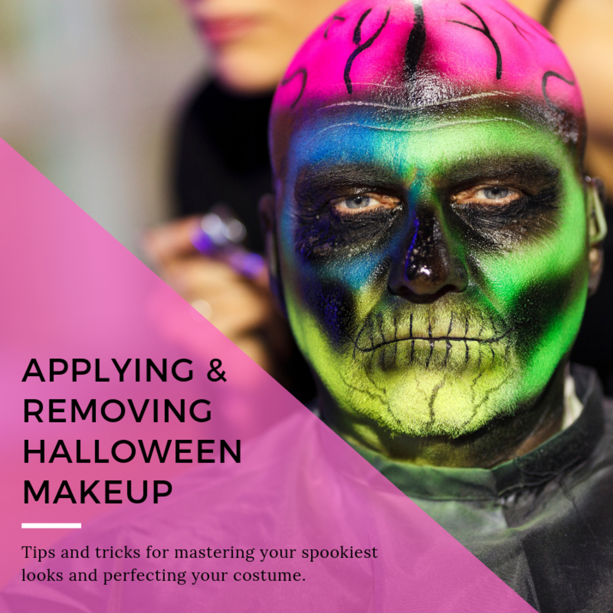 Tips for Applying and Removing Halloween Makeup