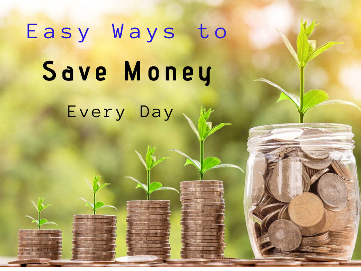 Saving money is a habit you can develop if you set your mind to it.