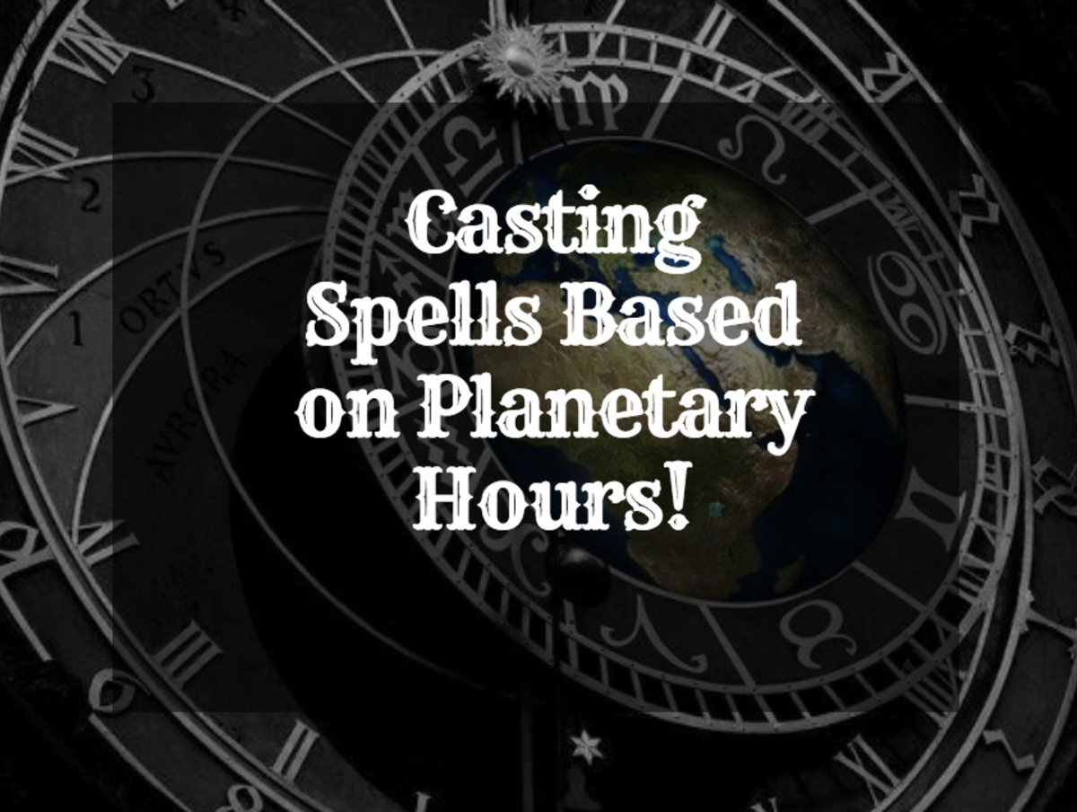 Use planetary hours for precise spellcasting.