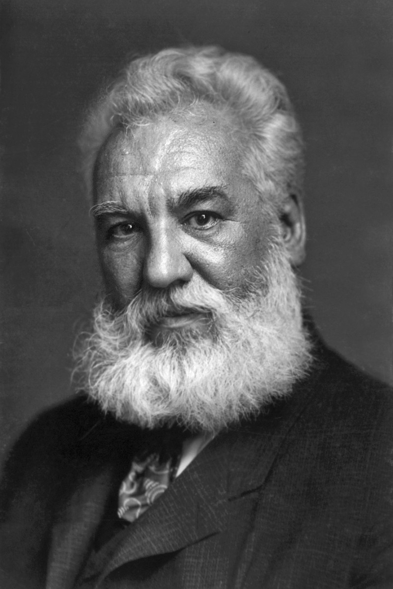 Alexander Graham Bell figured out how to manifest desires.