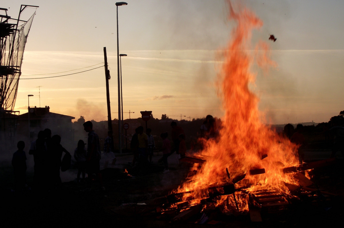 Fires are a common feature at Litha celebrations.