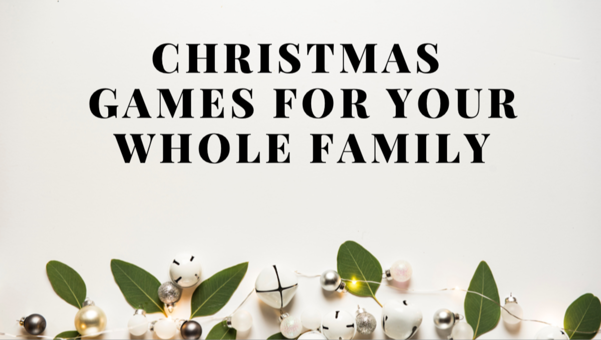These Christmas games are fun for the whole family!