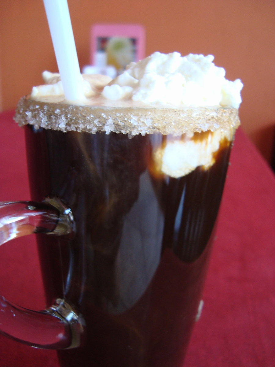 This homemade Kahlua-like coffee liqueur is perfect for making Mexican coffees.
