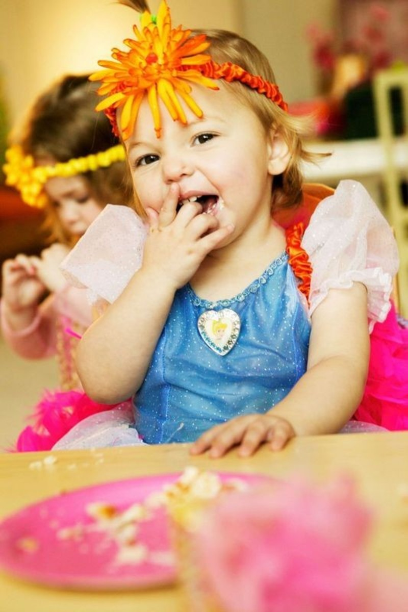 Young toddlers will have a lot more fun at a party with a few friends, simple activities, and lots of attention from caregivers.