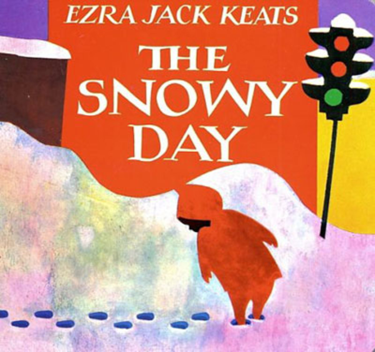 The Snowy Day by Ezra Jack Keats front cover, ISBN 9780670867332