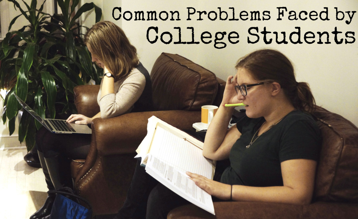Ten Common Problems Students Face in College