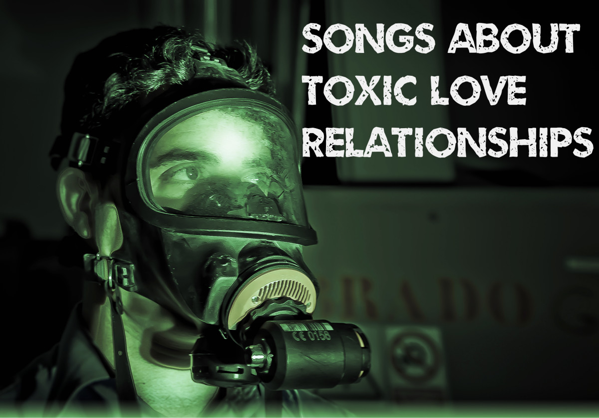 Know someone involved in a toxic love relationship? Is it you? Customize a playlist of pop, rock, country, and R&B tunes that describe unhealthy, dangerous love.
