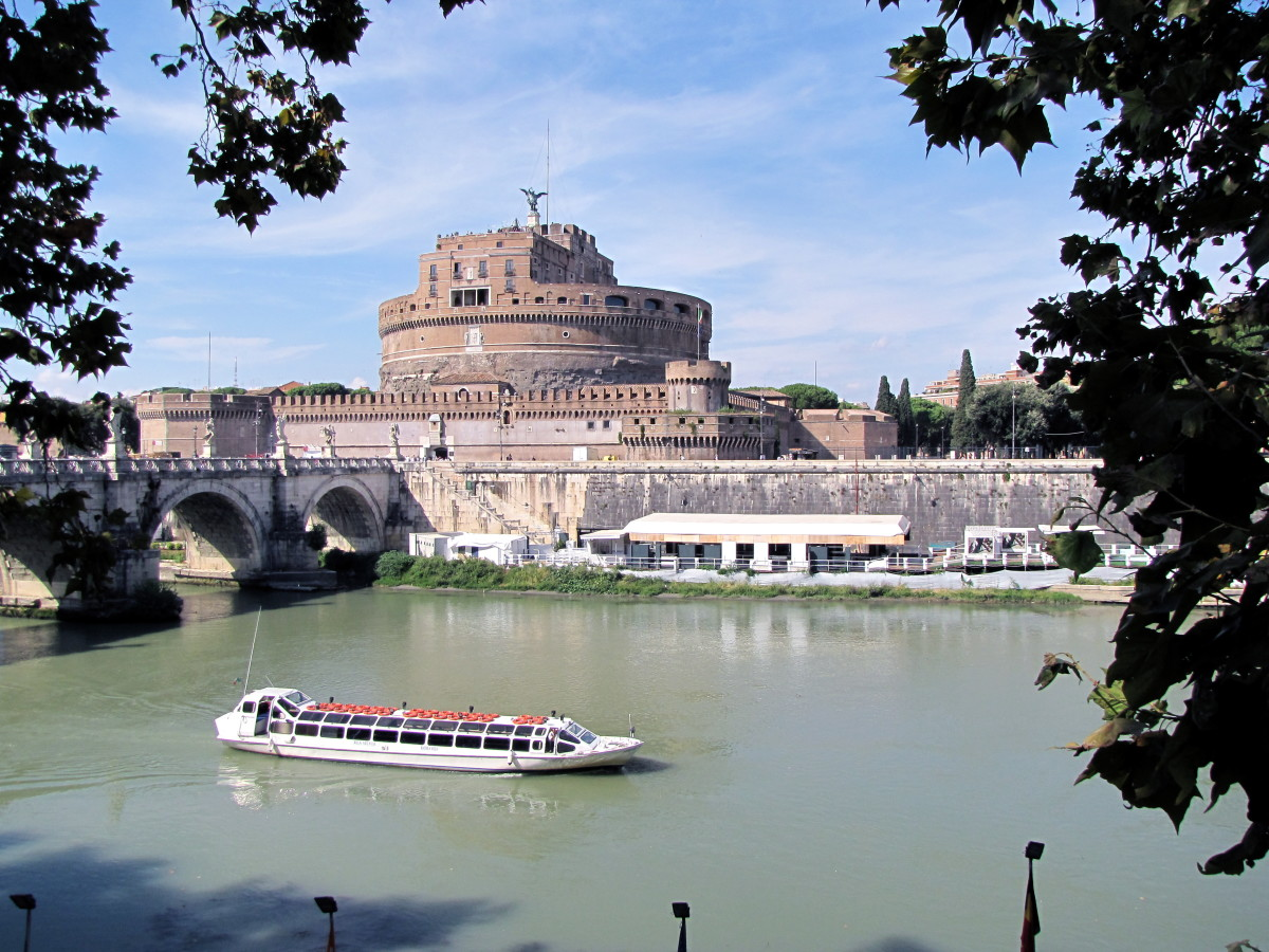 Castel Sant'Angelo across the Tiber River
