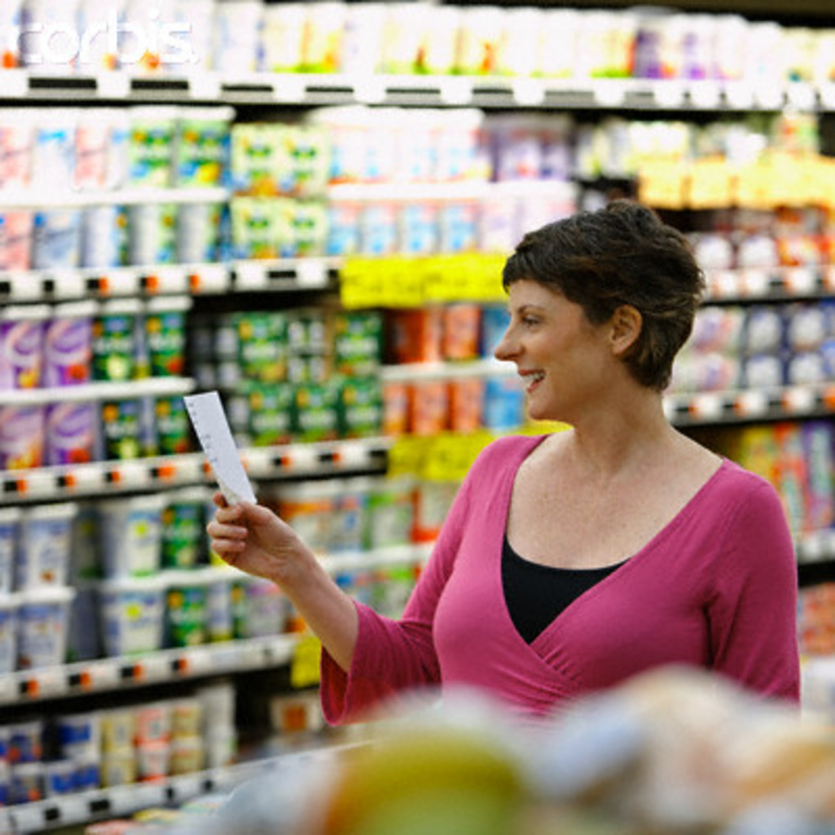How to Create a Standardized Grocery Shopping List