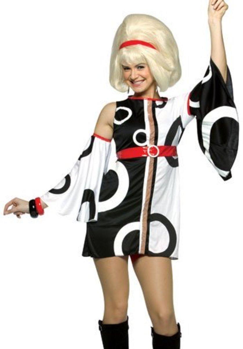 Miss Mod costume