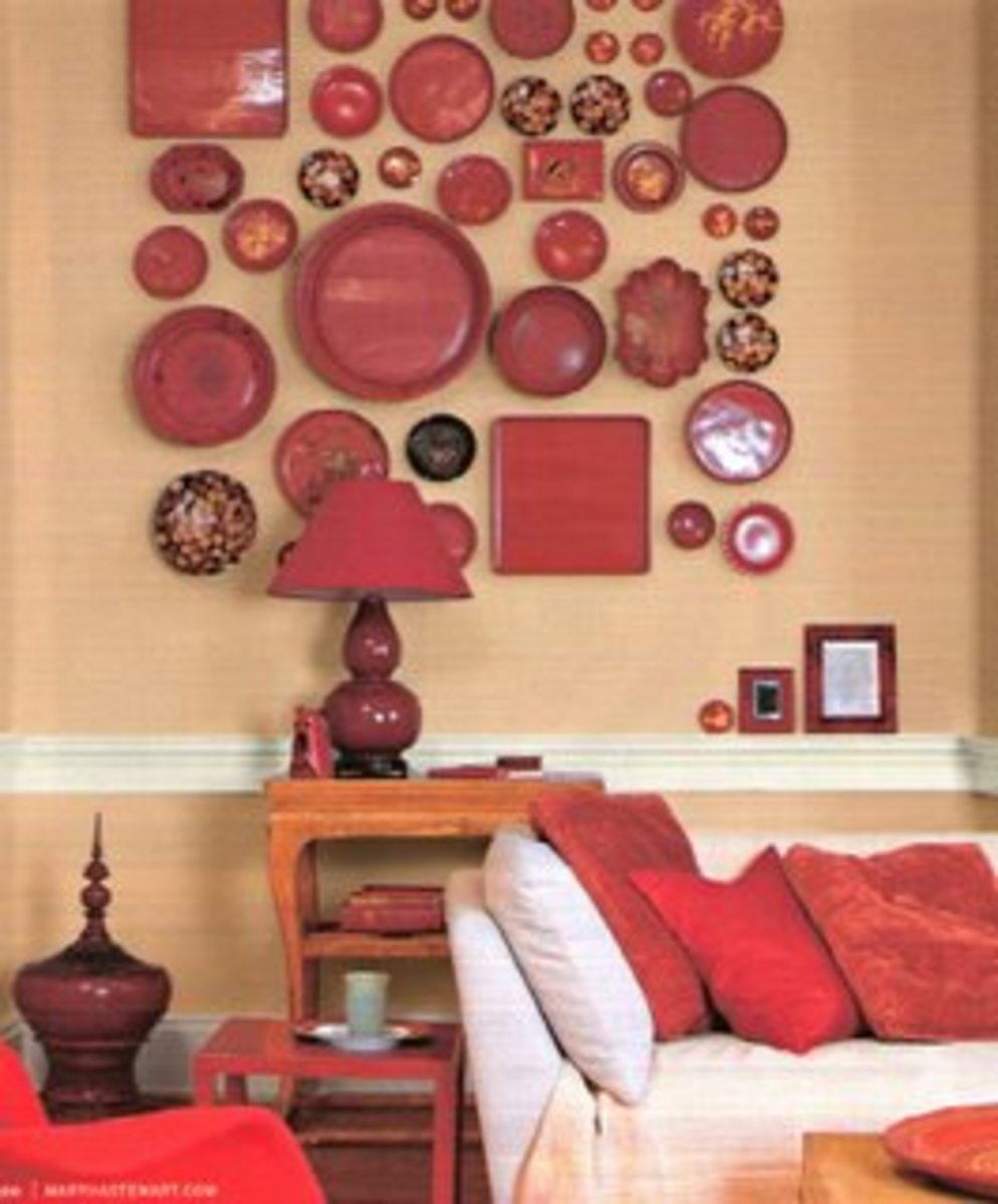 When designing a collage, choose one color, but vary the types of plates you use.