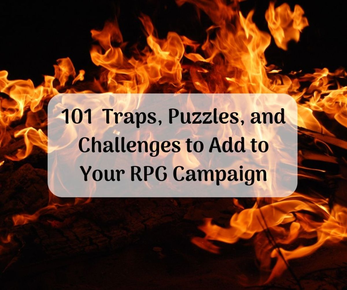 101 Traps, Puzzles, and Challenges to Add to Your Campaign