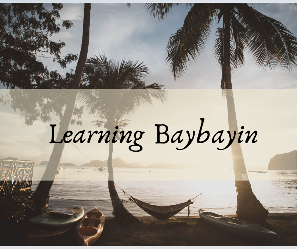 Learning Baybayin: A Writing System from the Philippines