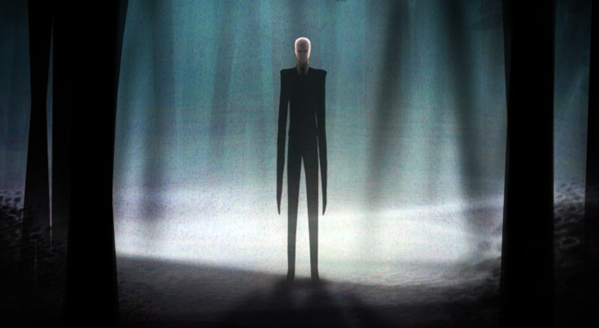 The all famous Slenderman.