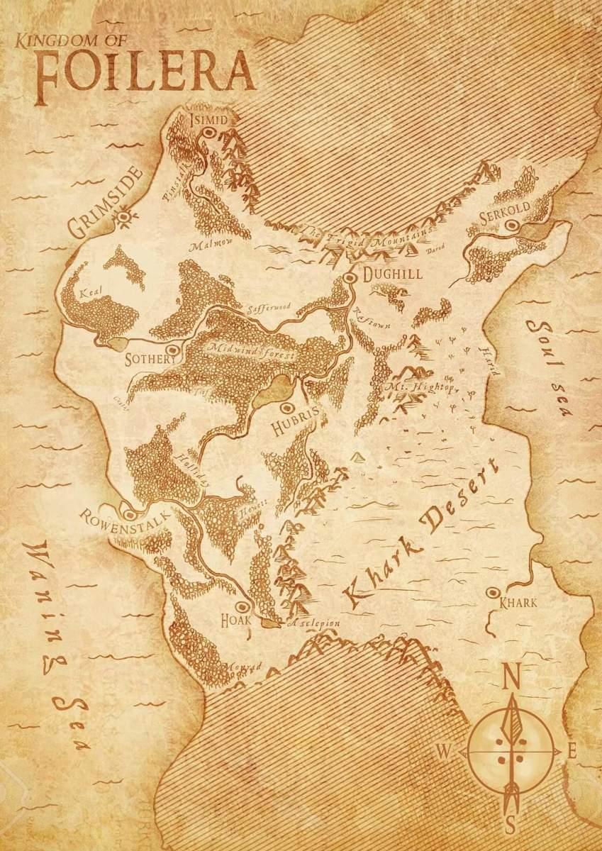 Map of the Kingdom of Foilera