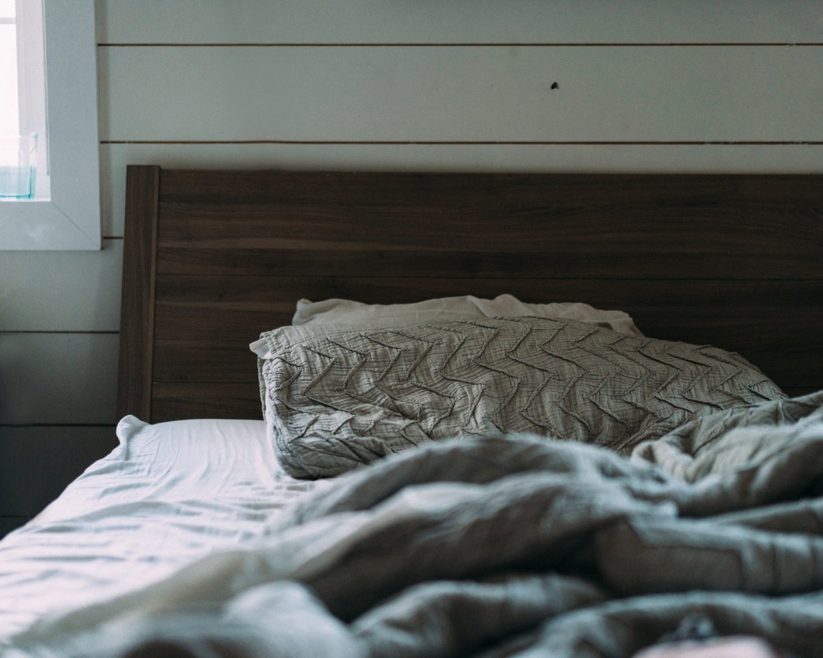 Morning bed.