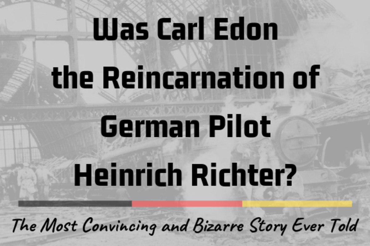 Carl Edon was born in Middlesborough in the '70s. But was he really the reincarnation of a Nazi pilot who died in 1942?