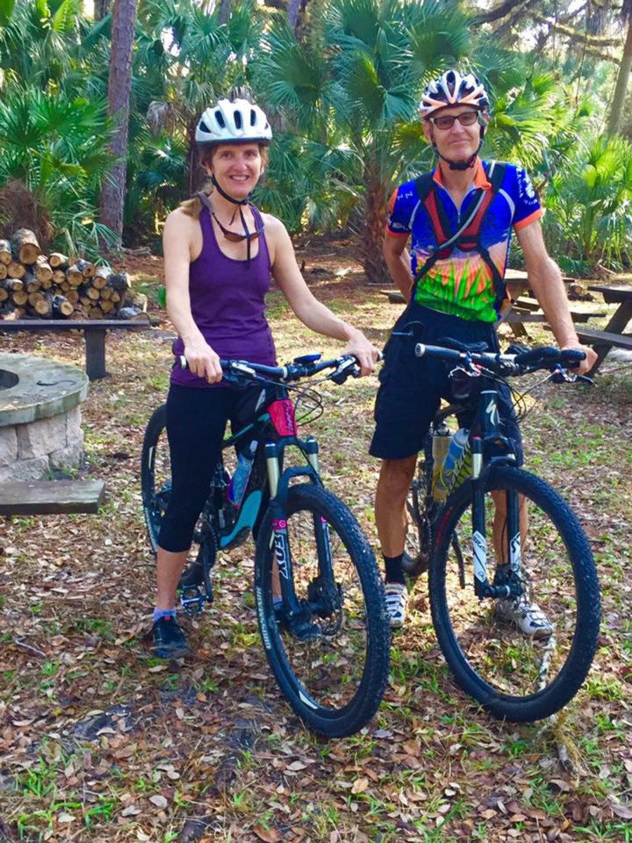 Mountain bikes only!