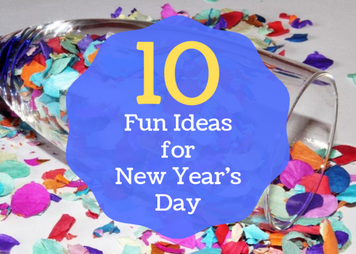 Did you make plans for New Year's Eve but forget to plan for the day after? Check out these ten fun things to do on the first day of the year.