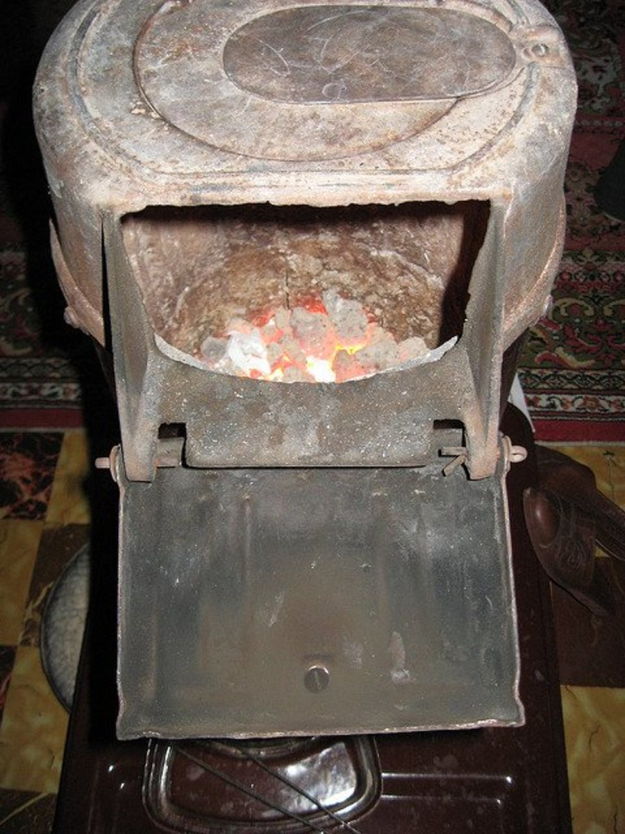 How to Start a Coal Stove Fire