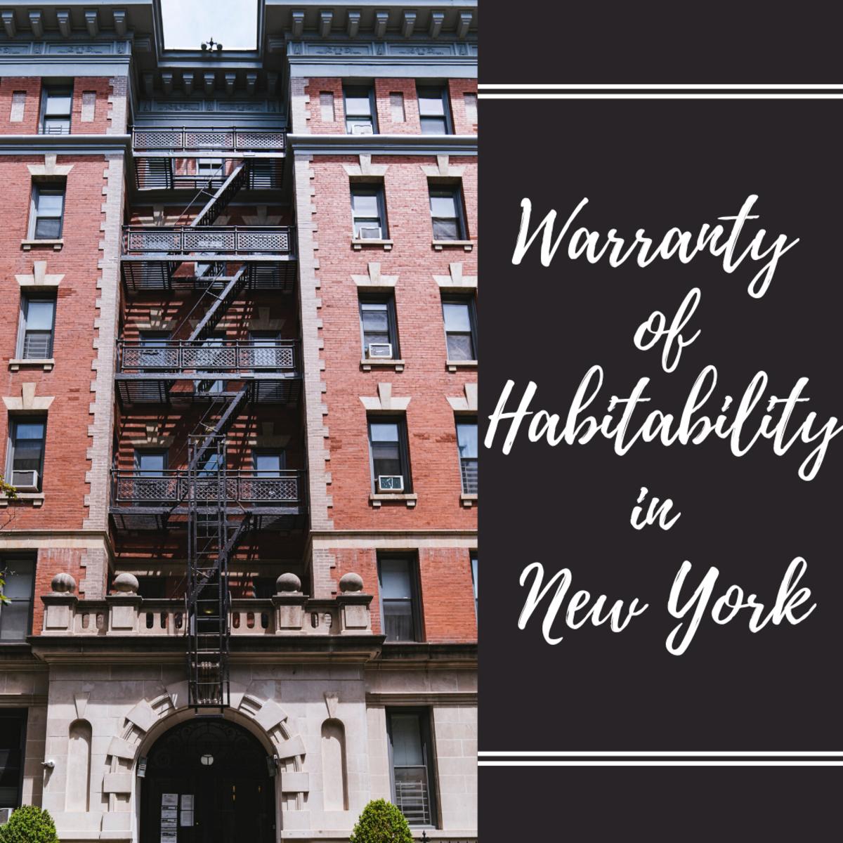 Tenants' Rights 101:  The Warranty of Habitability in New York