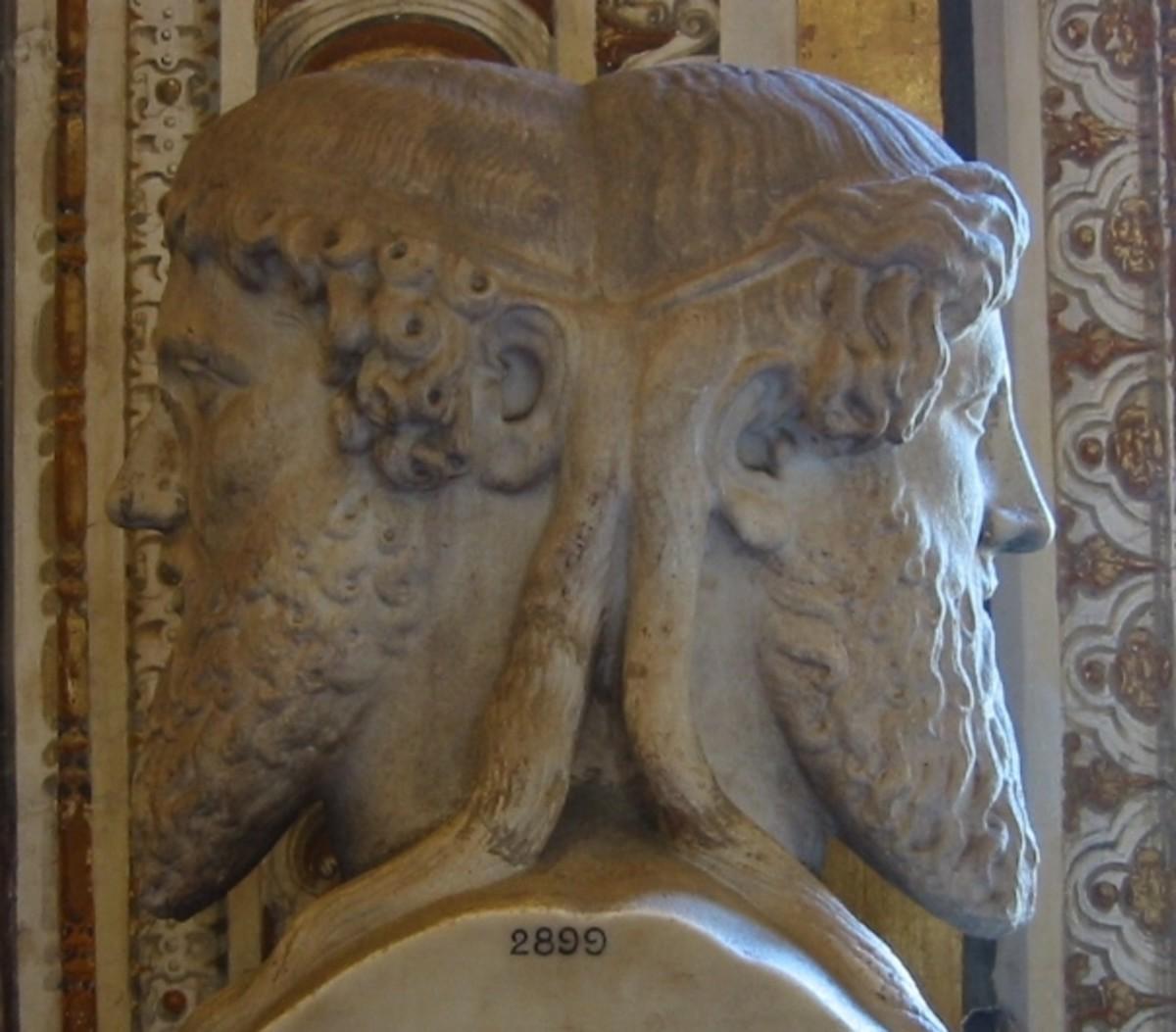 Ancient Roman God Janus