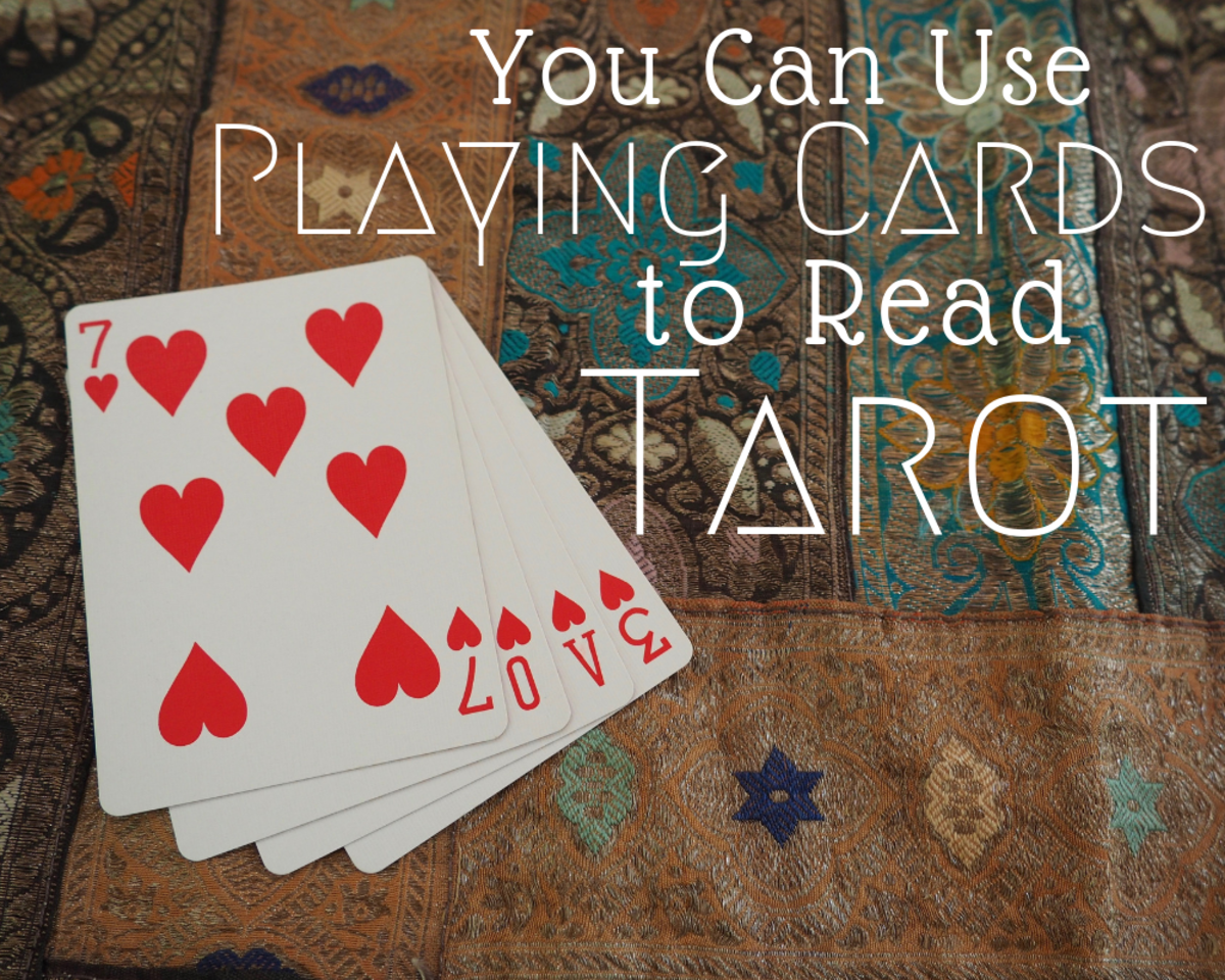 How to use playing cards to read tarot.