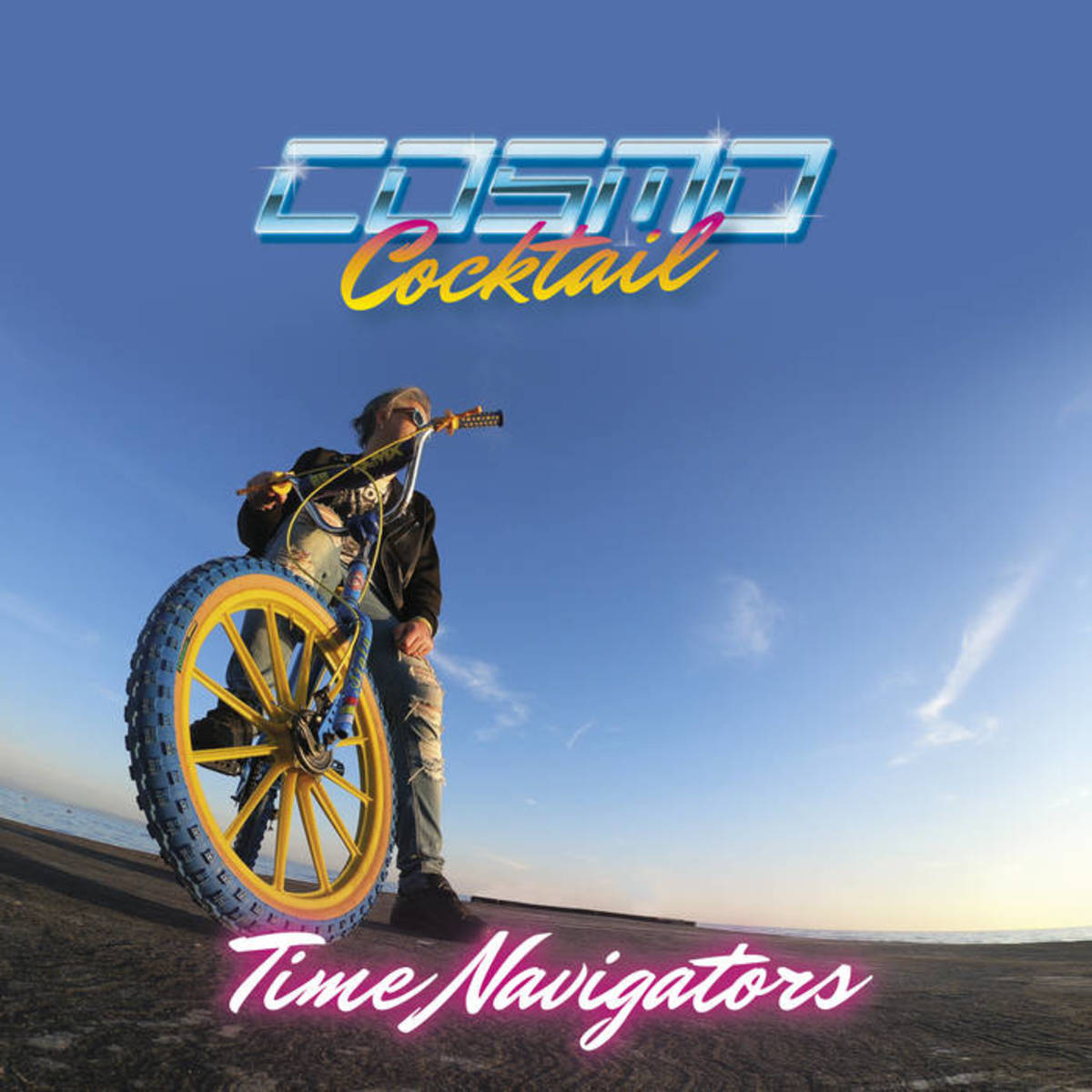 """Album artwork for """"Time Navigators,"""" by Cosmo Cocktail."""