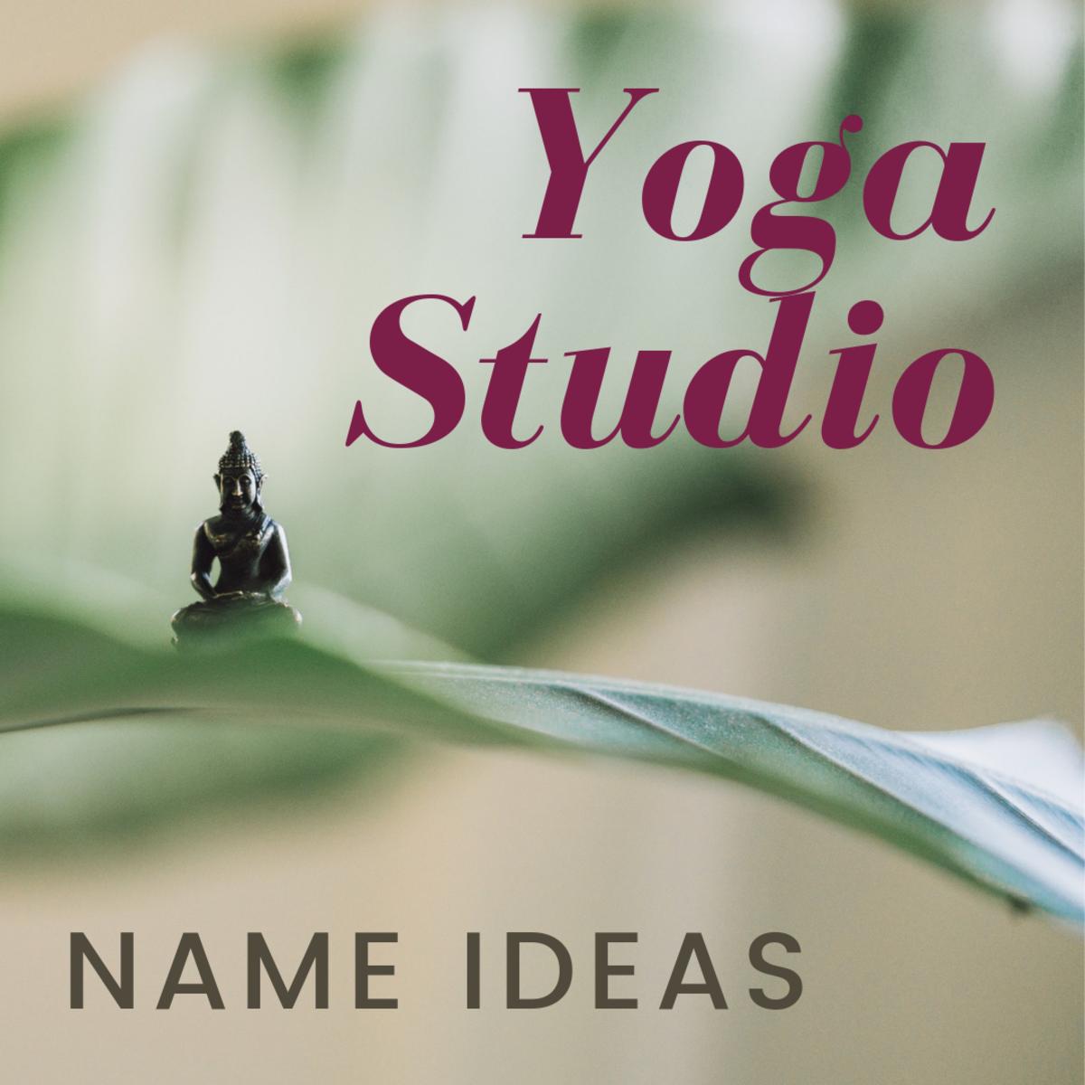 Yoga Studio Name Ideas