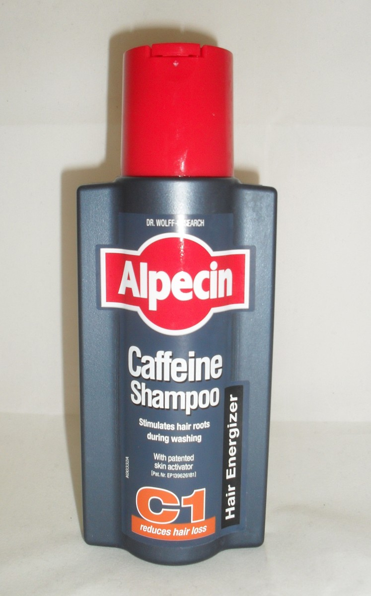 Alpecin C1 Shampoo: Looks like a bottle of bicycle oil.