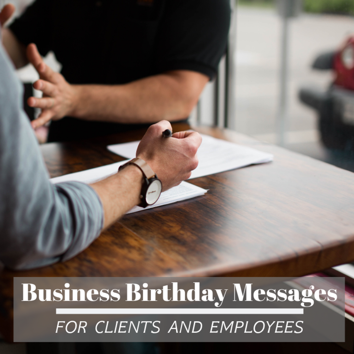Writing personalized birthday cards to your employees and clients is a great way to show the community that you care.