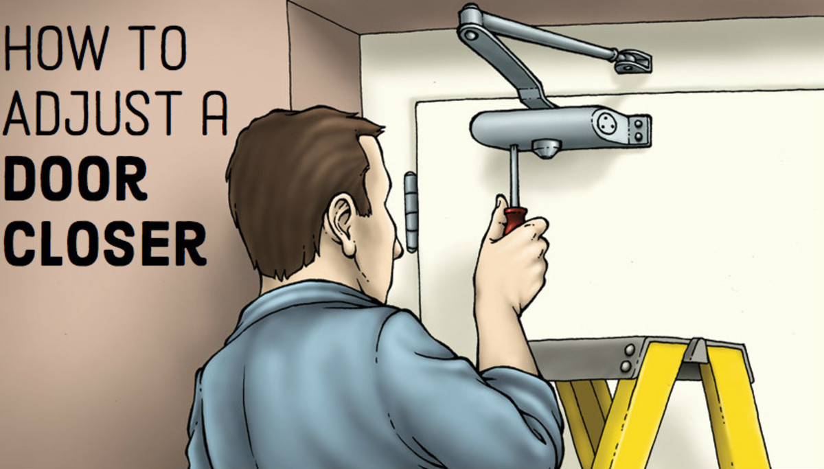 Door closer adjustment is an art that requires knowledge patience and an ability to climb up and down a ladder several times but with these attributes ... & How to Adjust Your Door Closer | Dengarden