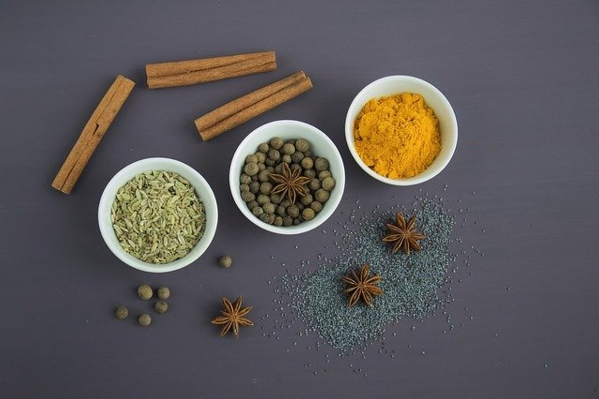 Common Spices in Asian Cuisine