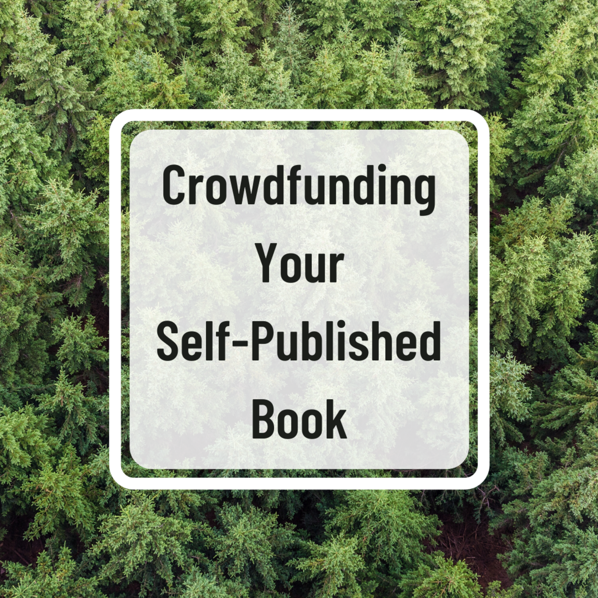 Is crowdfunding a viable means of raising money to self-publish your book?