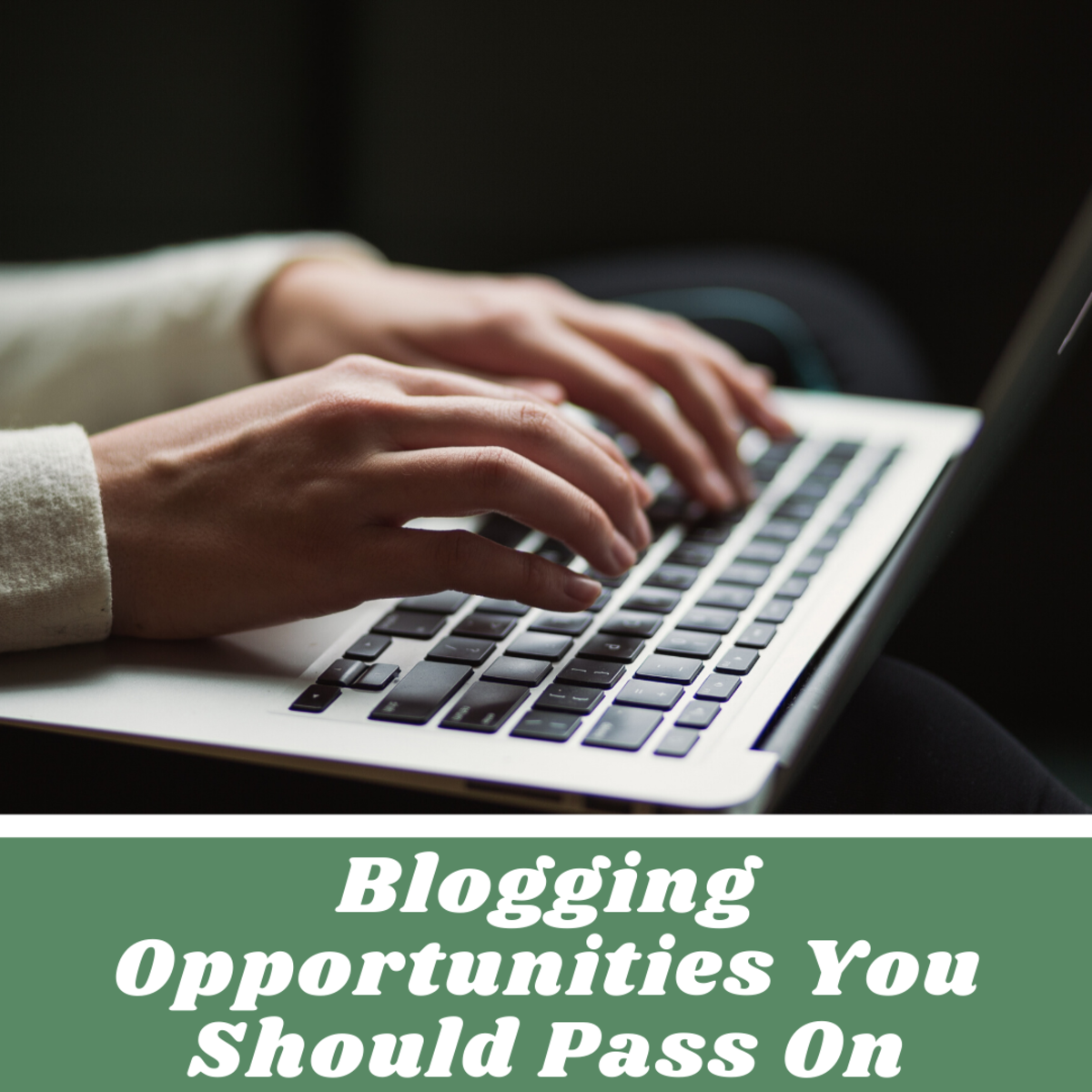 If you see these blog opportunities online, don't take the bait.