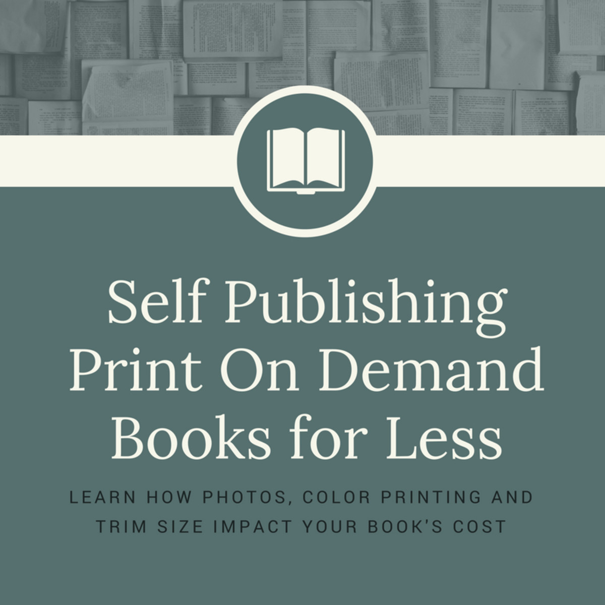 Get some advice for making POD books more affordable.