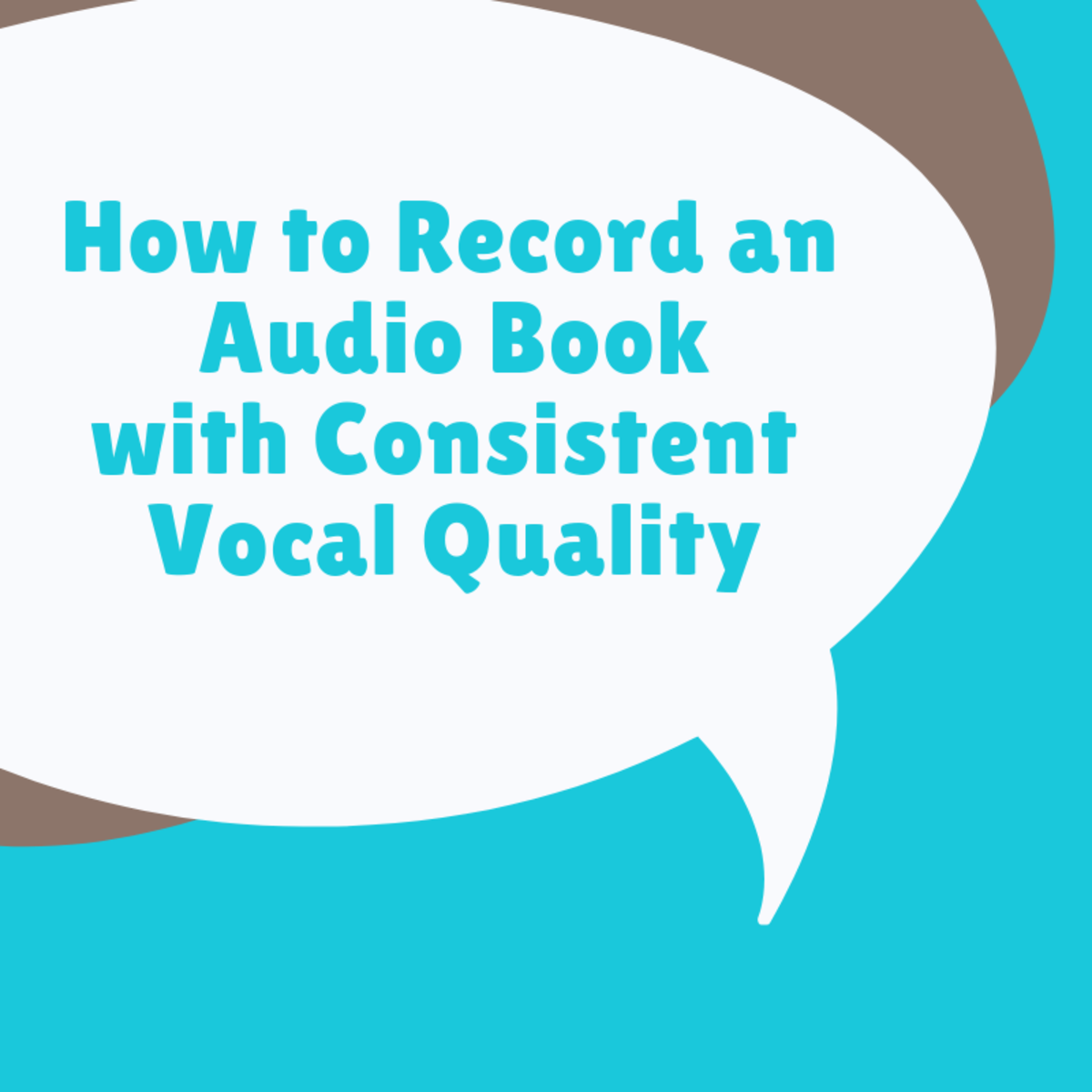How to Record an Audio Book With More Consistent Vocal Quality
