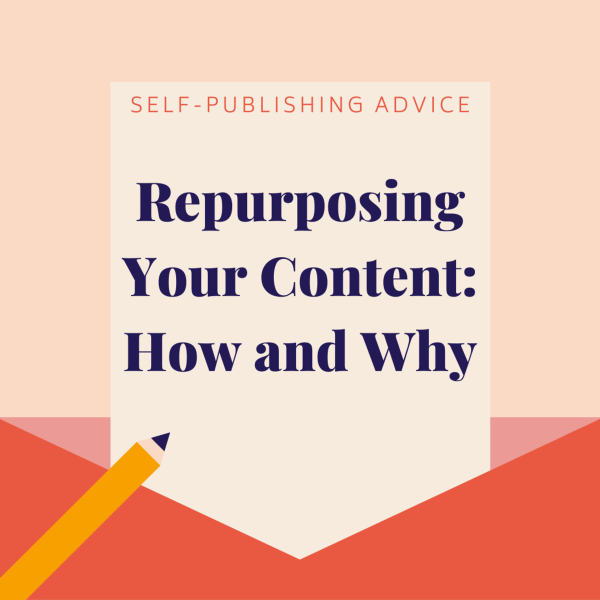 Learn about repurposing your written content to make more money off of it.