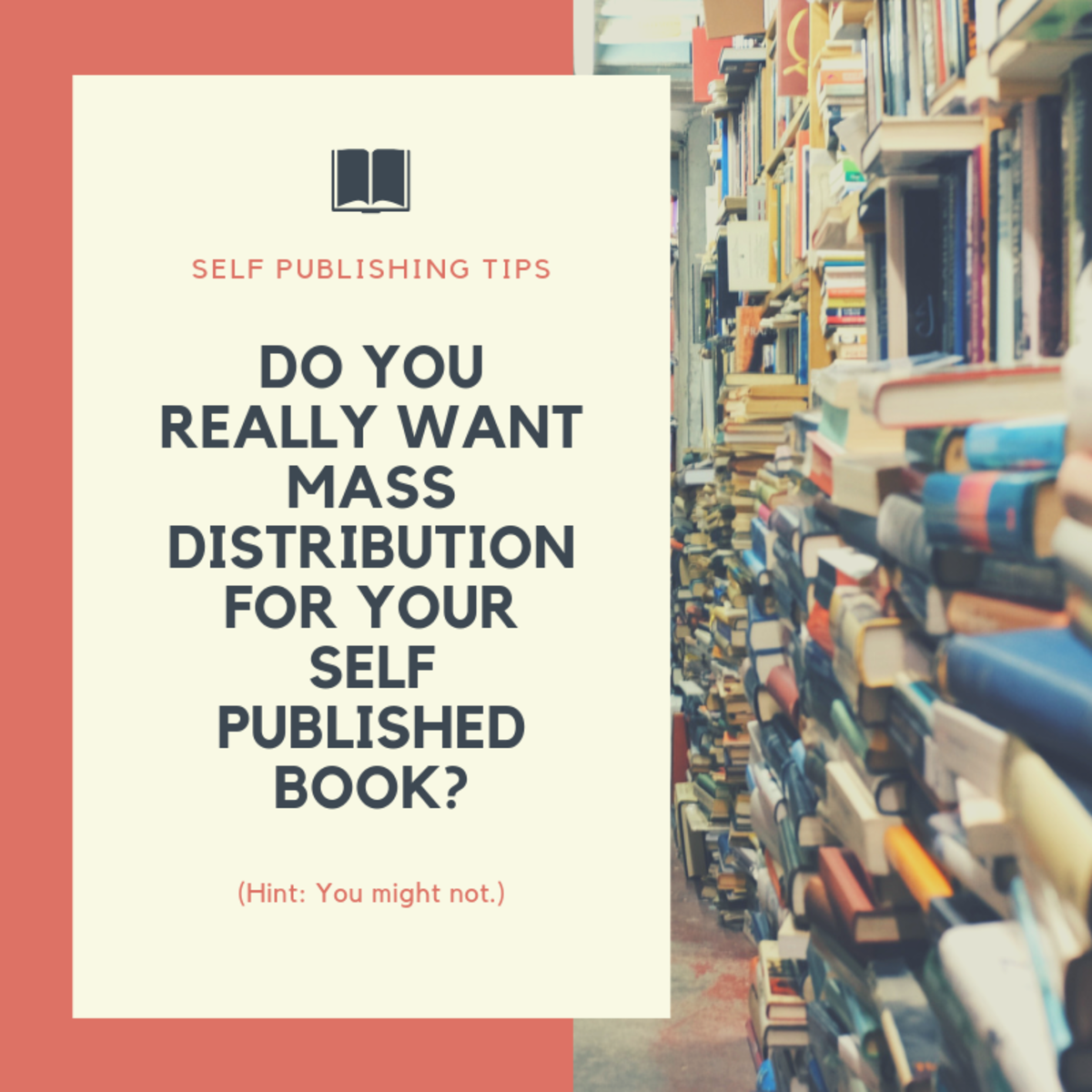 Do you want mass distribution for your self-published book?