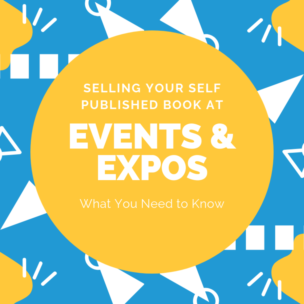 Selling Your Self Published Book at Events and Expos
