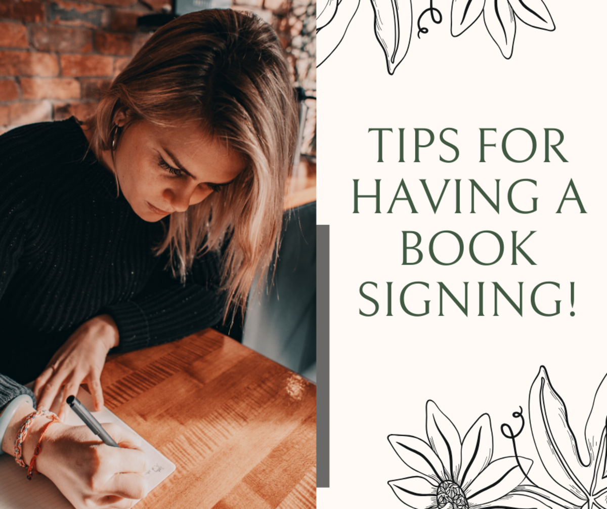 Read on to see what's involved in hosting a book signing event.