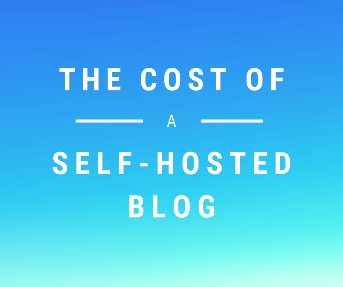The Cost of a Self-Hosted Blog