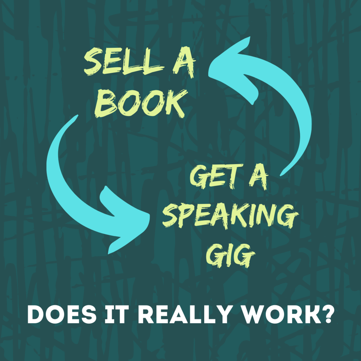 Does a self-published book help you land public speaking gigs—and do those gigs help you sell your book? The answer is both yes and no!