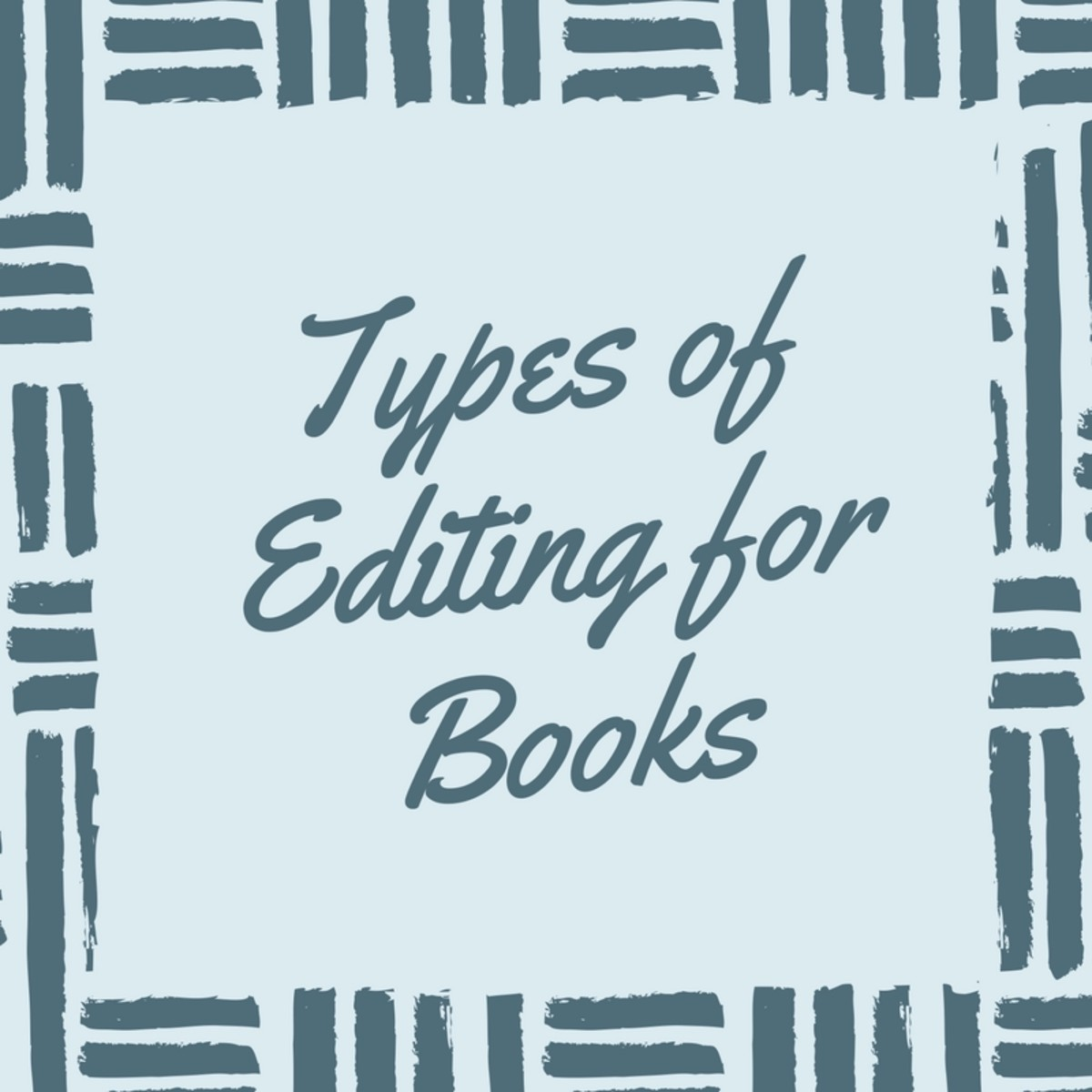 Types of Editing for Books