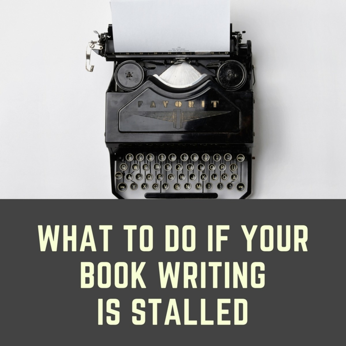 What to Do If Your Book Writing Is Stalled
