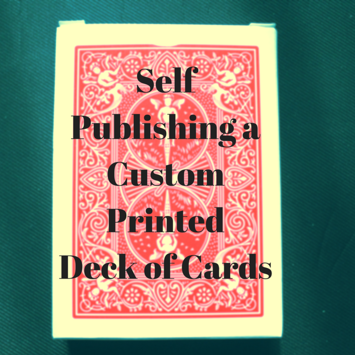 Self Publishing a Custom Printed Deck of Cards