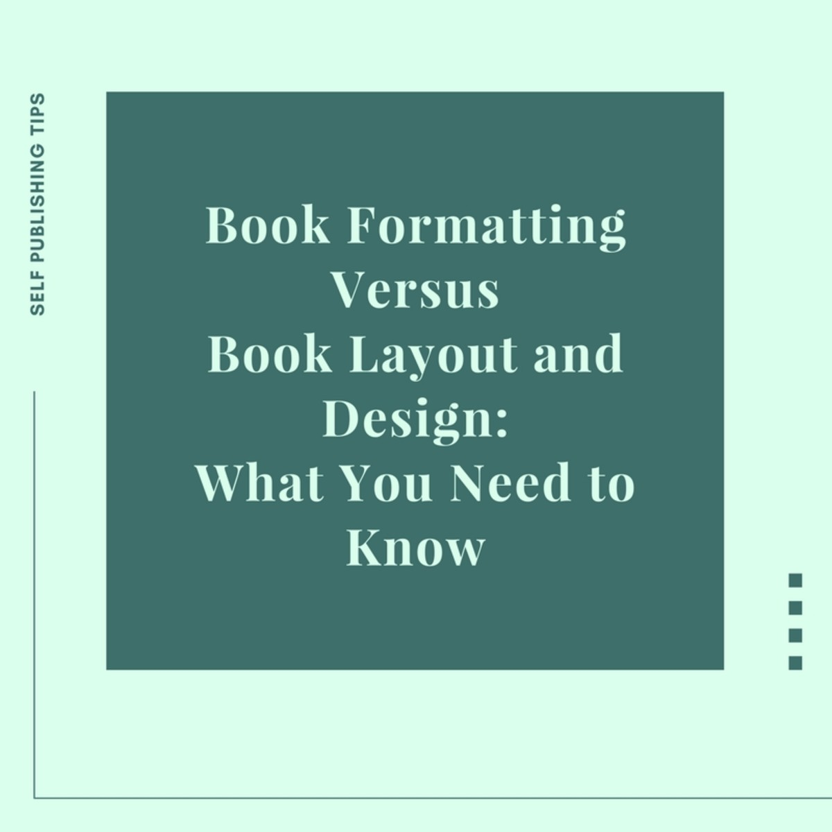Book Formatting Versus Book Layout and Design: What You Need to Know ...
