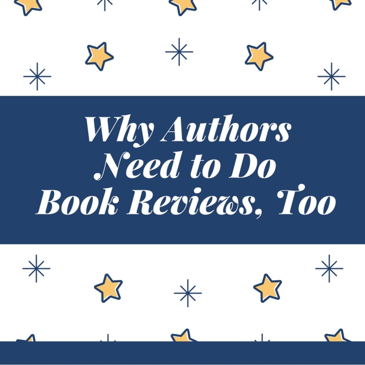 Book Reviews: Why Authors Need to Do Them