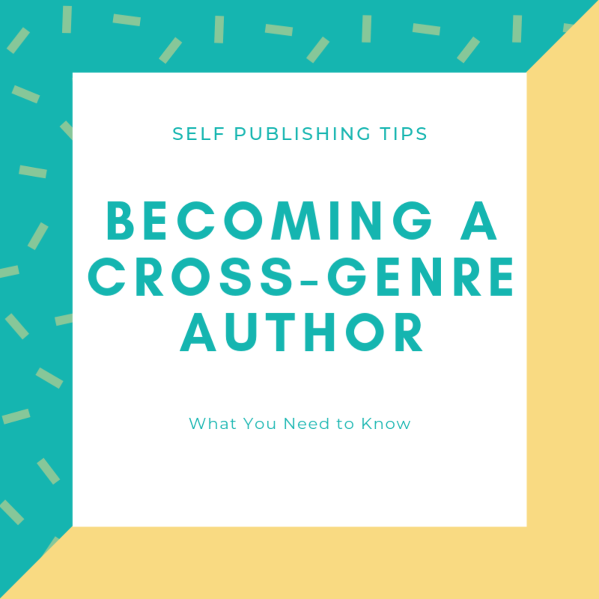 Becoming a Cross-Genre Author: What You Need to Know